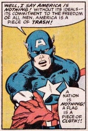 Here's Captain America Smashing Some Fascists | The Mary Sue