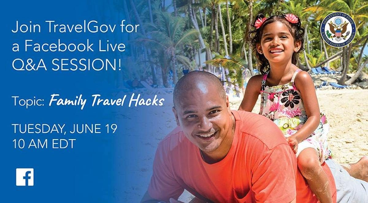 state department family travel chat