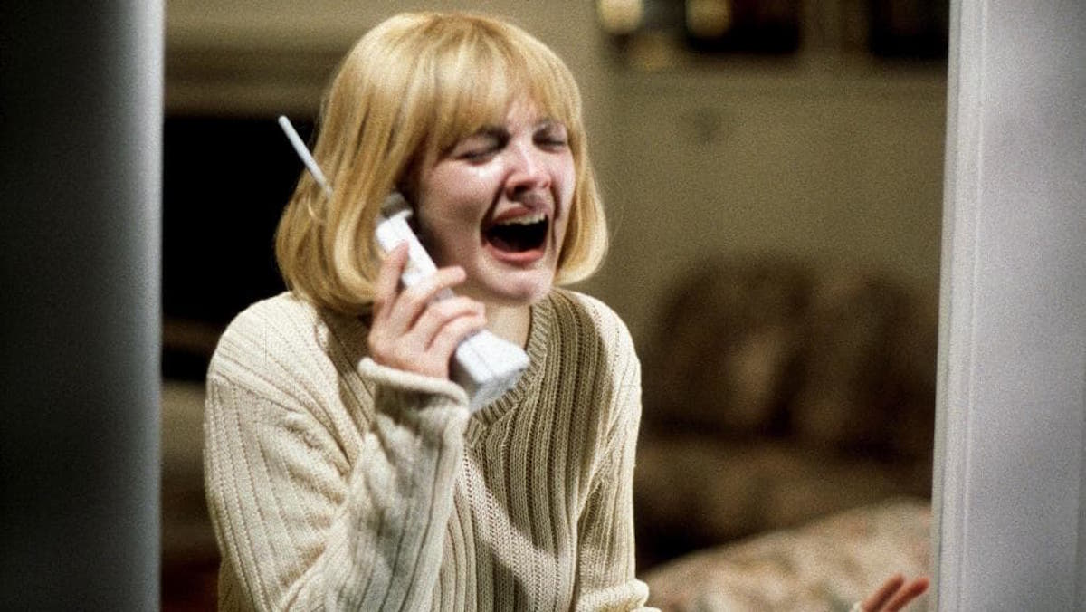 Drew Barrymore in Scream.