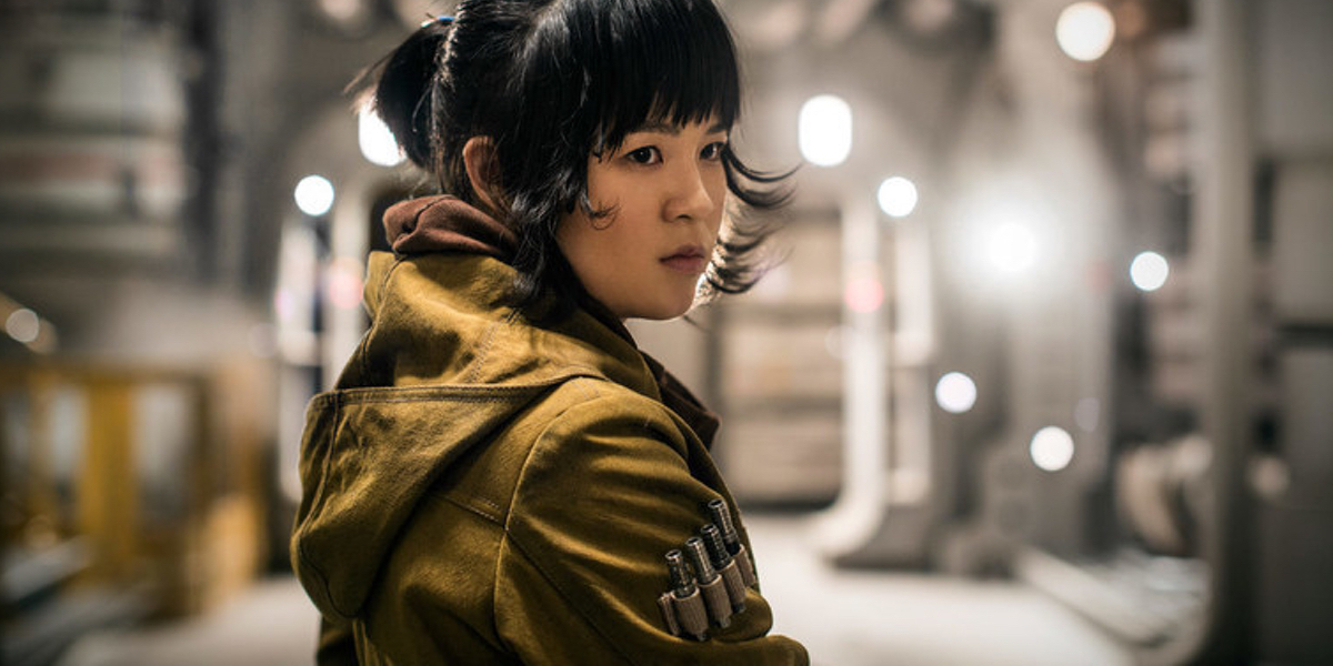 The Last Jedi's Kelly Marie Tran appears as Rose Tico