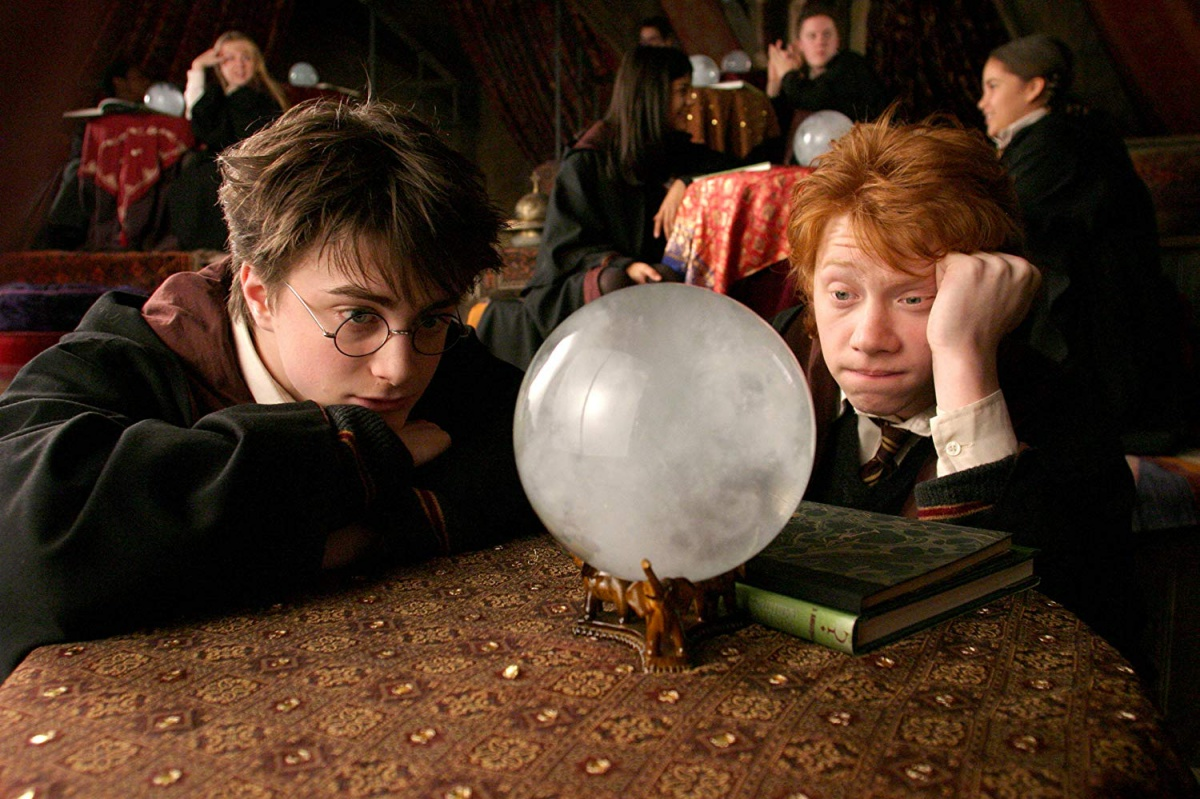 Rupert Grint and Daniel Radcliffe in Harry Potter and the Prisoner of Azkaban (2004)