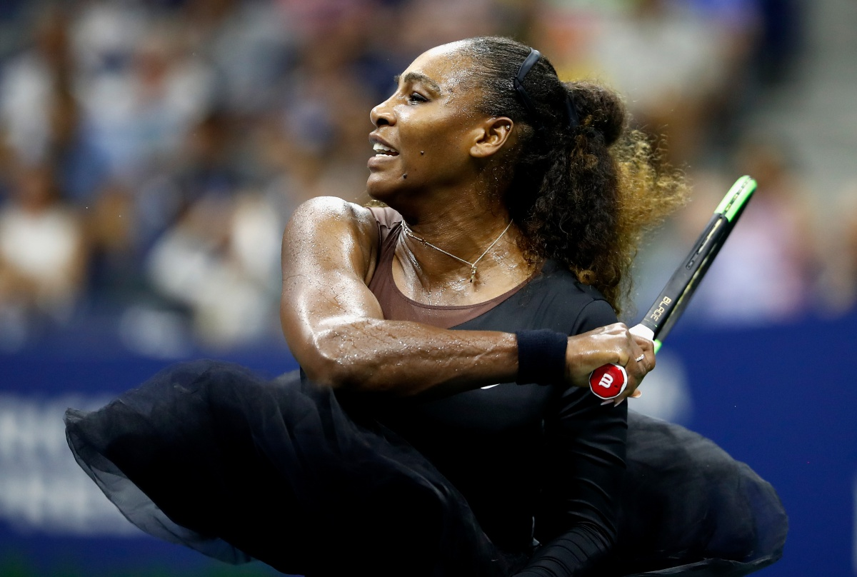on Day One of the 2018 US Open at the USTA Billie Jean King National Tennis Center on August 27, 2018 in the Flushing neighborhood of the Queens borough of New York City.