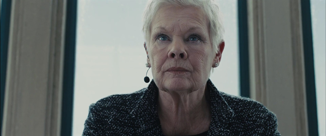 Judi Dench in Skyfall