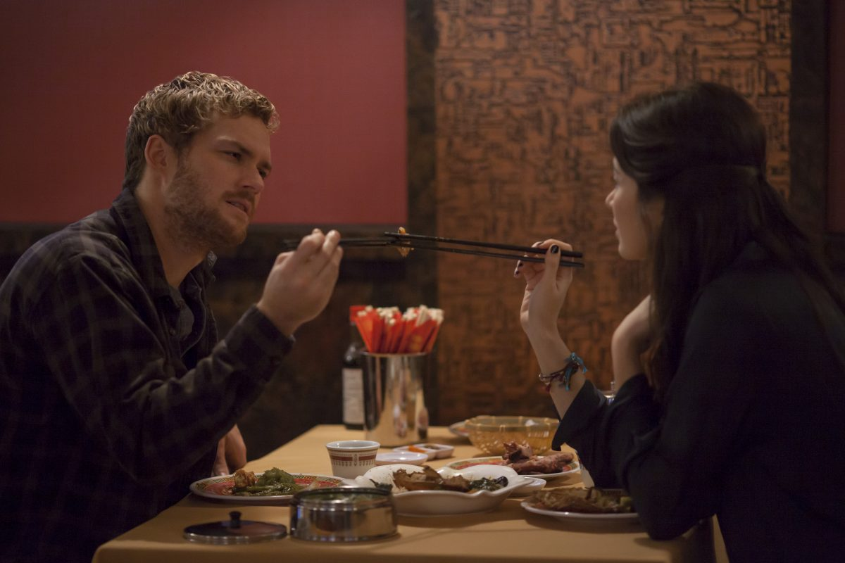Danny Rand and Colleen Wing in Netflix Marvel's Iron Fist