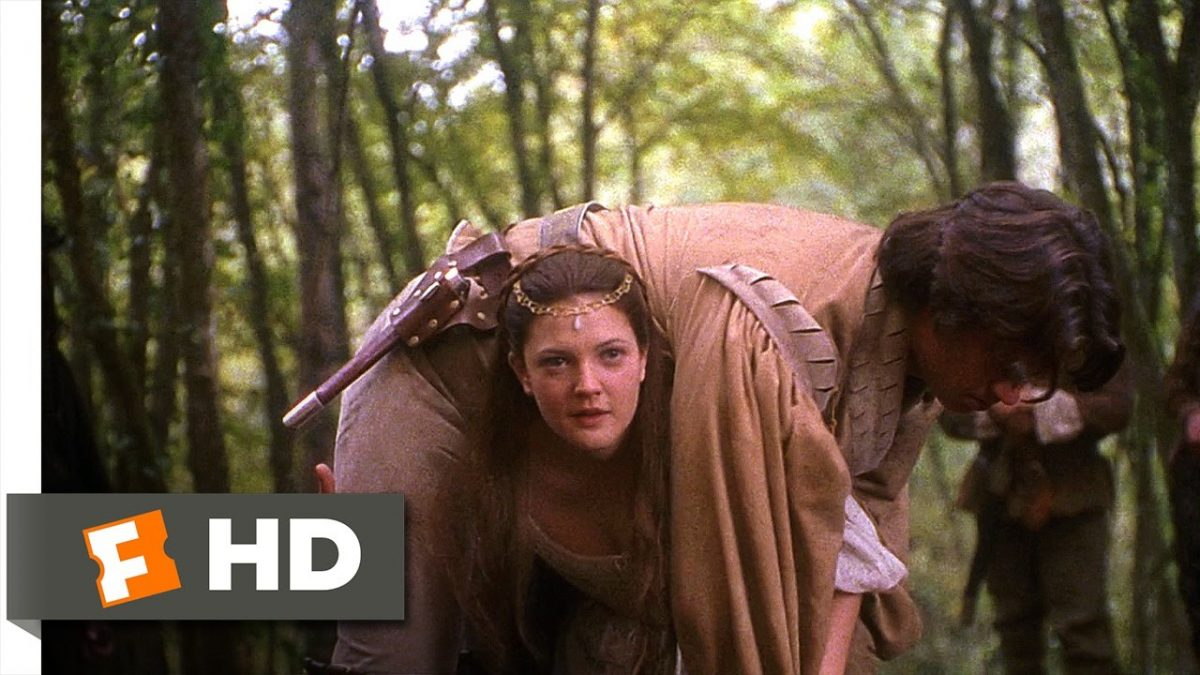 drew barrymore daniella ever after cinderella carries prince