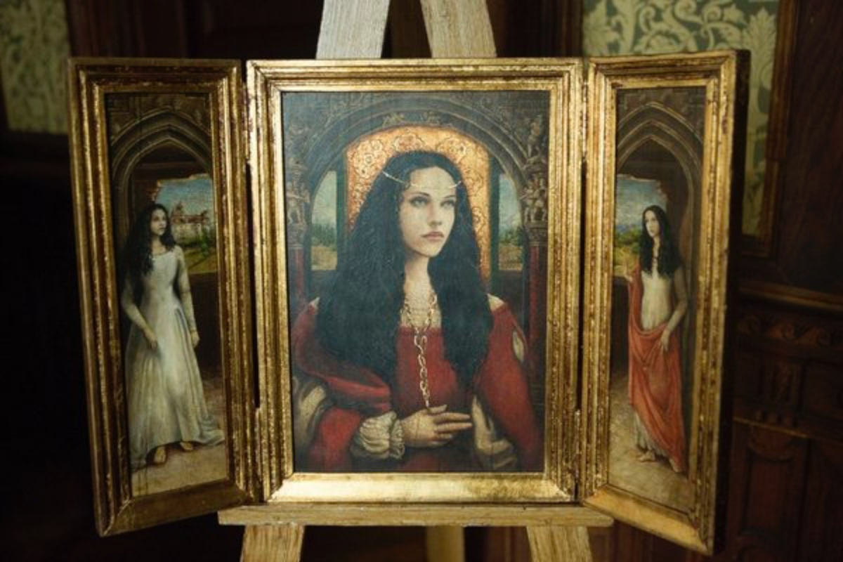 """DRACULA -- """"Come To Die"""" Episode 8 -- Pictured: Painting of Ilona -- (Photo by: David Lukacs/NBC)"""
