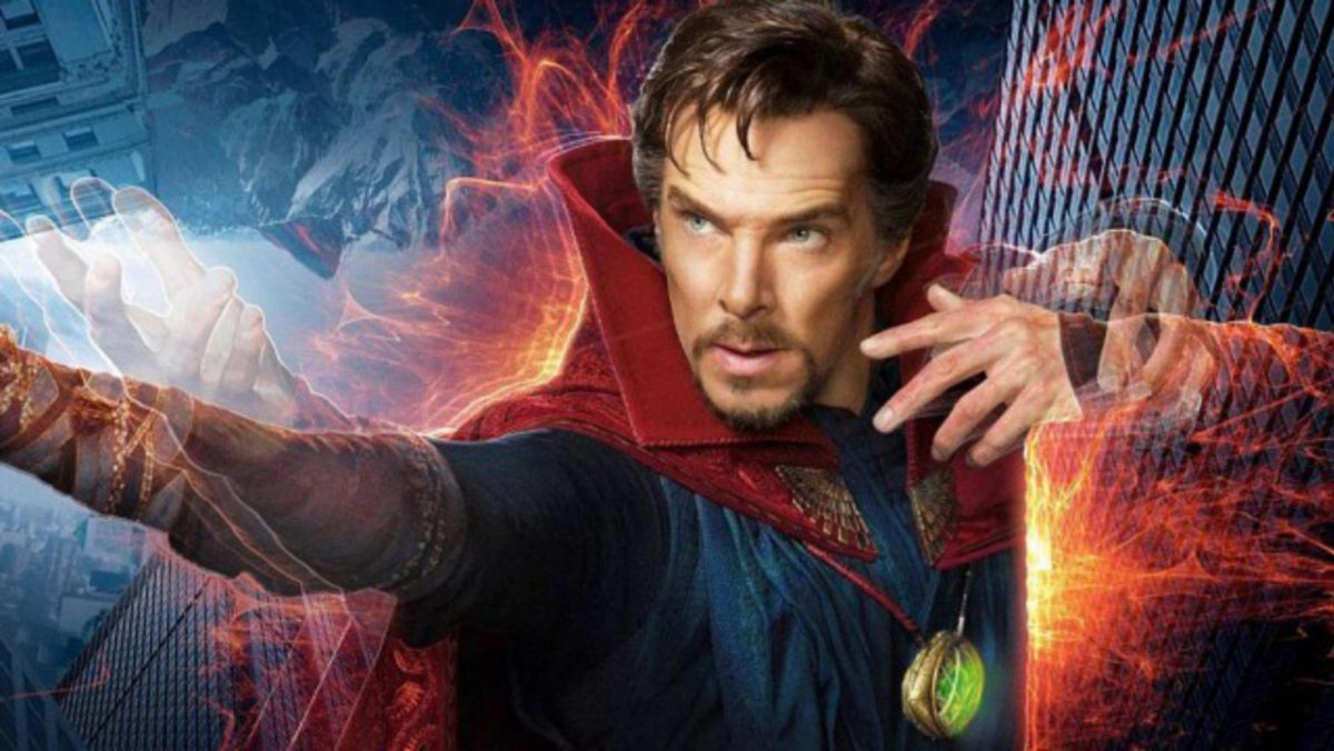 Doctor Strange played by Benedict Cumberbatcj