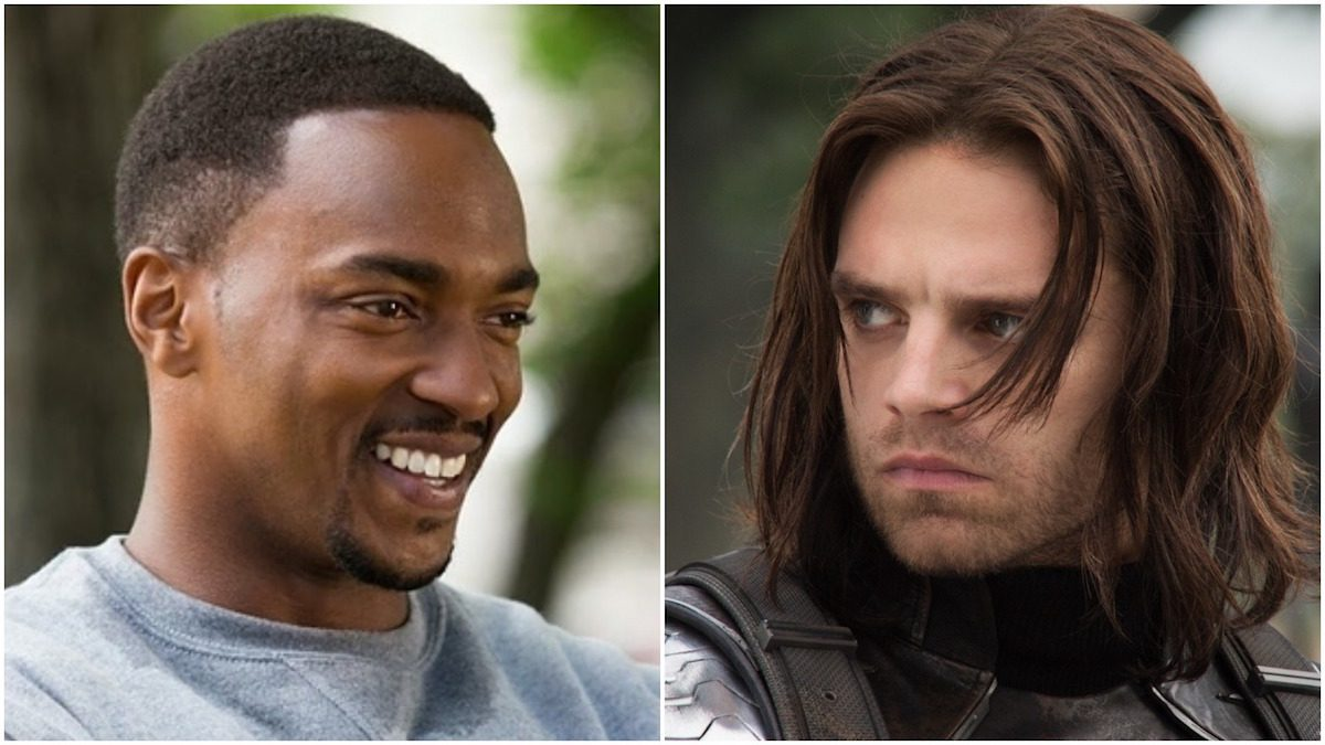 Anthony Mackie and Sebastian Stan in Falcon/Winter Soldier Marvel streaming series