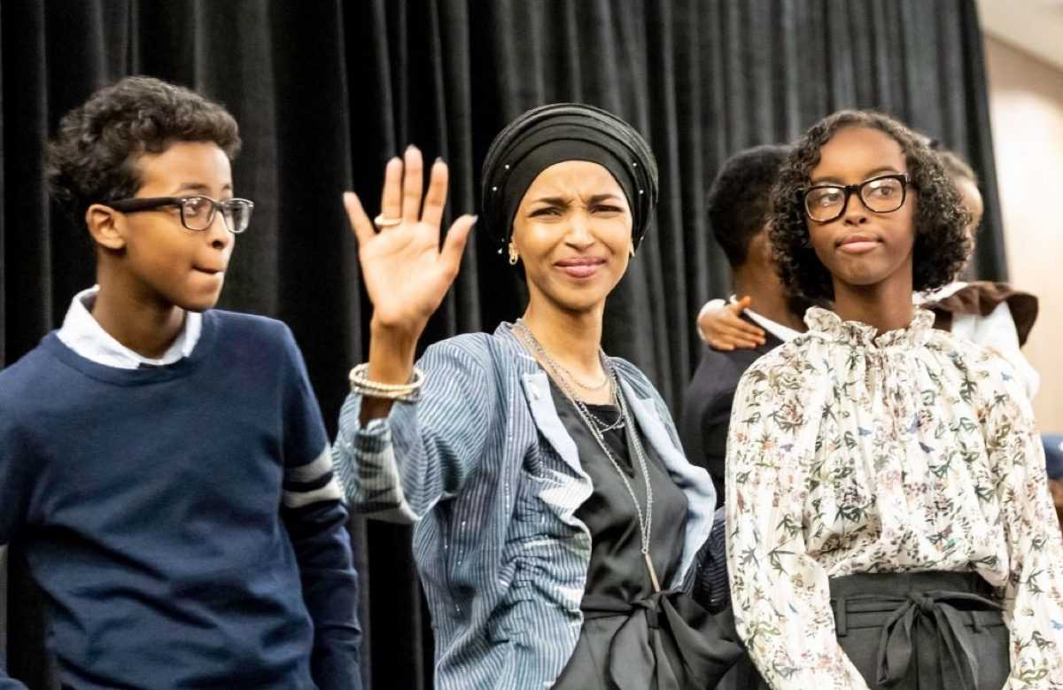 Ilhan Omar, newly elected to the U.S. House of Representatives