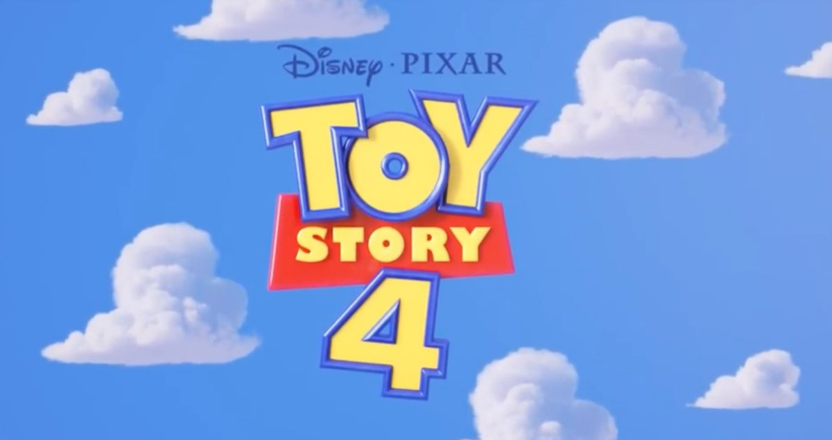 Toy Story 4 title logo.