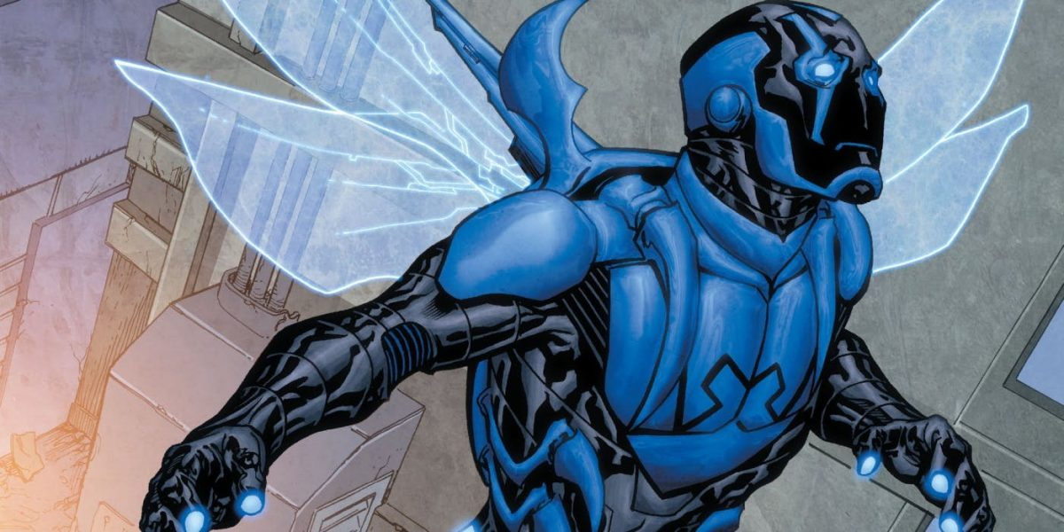 A Blue Beetle Movie Gives Us the First Latinx Superhero | The Mary Sue