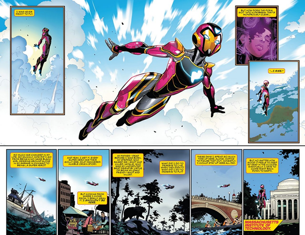 First Page Ironheart
