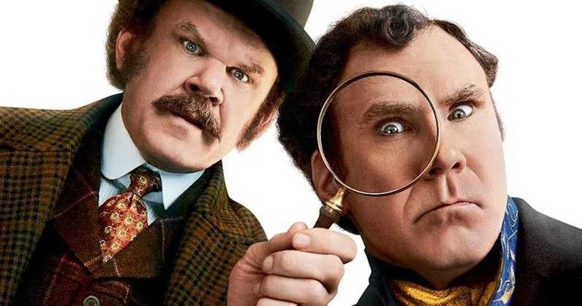 Holmes & Watson starring Will Ferrell and John C. Reilly