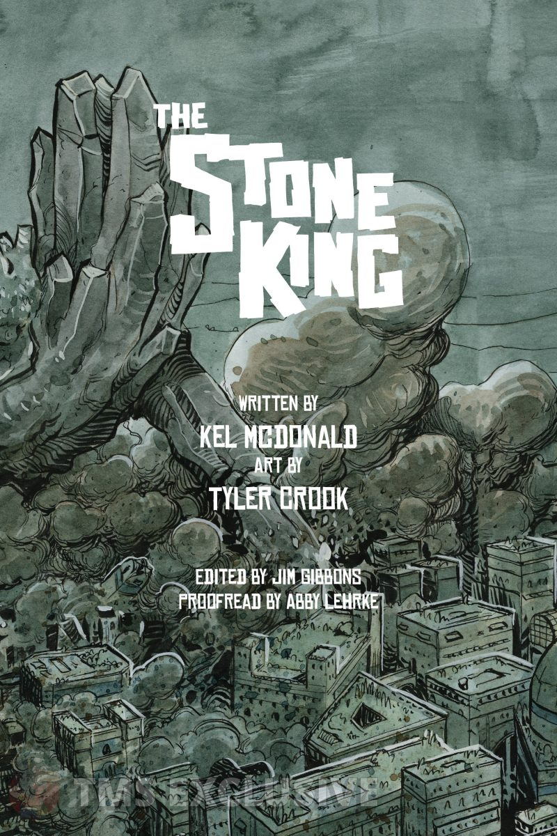 the stone king inside cover