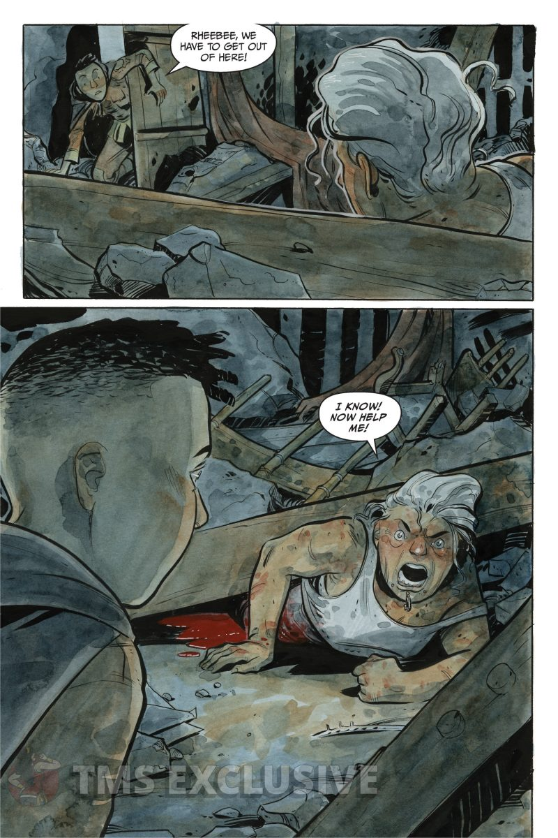 the stone king #2 page 3