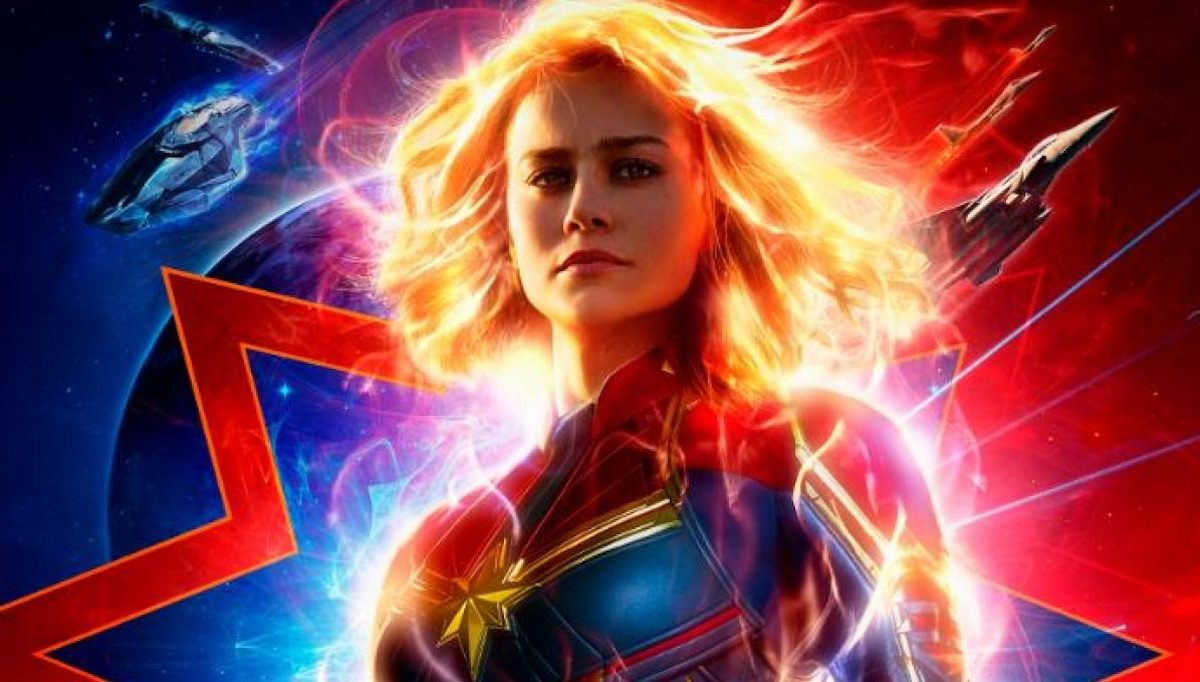 Brie Larson as Captain Marvel in new poster