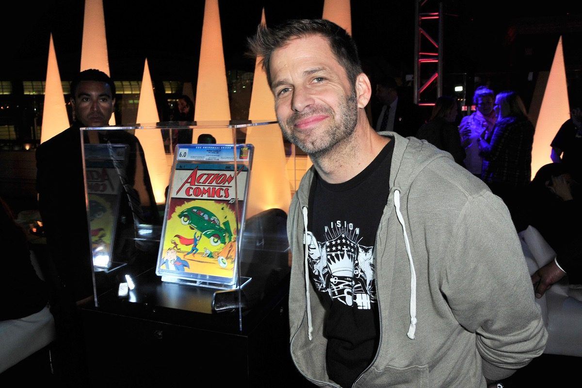 Zack Snyder at Superman 75 party.
