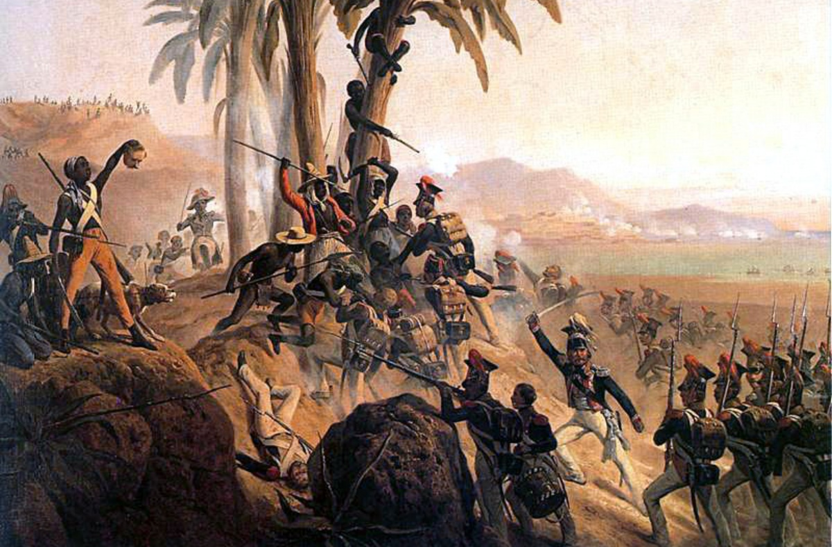Battle for Palm Tree Hill during the Haitian Revolution