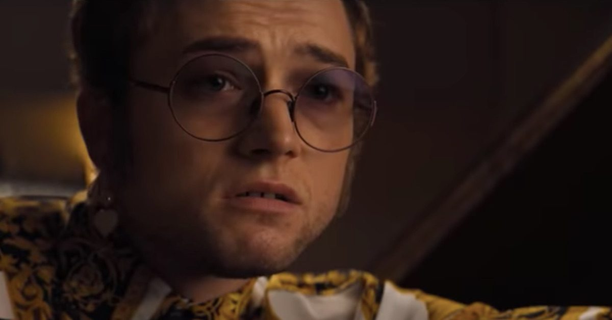 Taron Egerton plays Elton John in 'Rocketman'