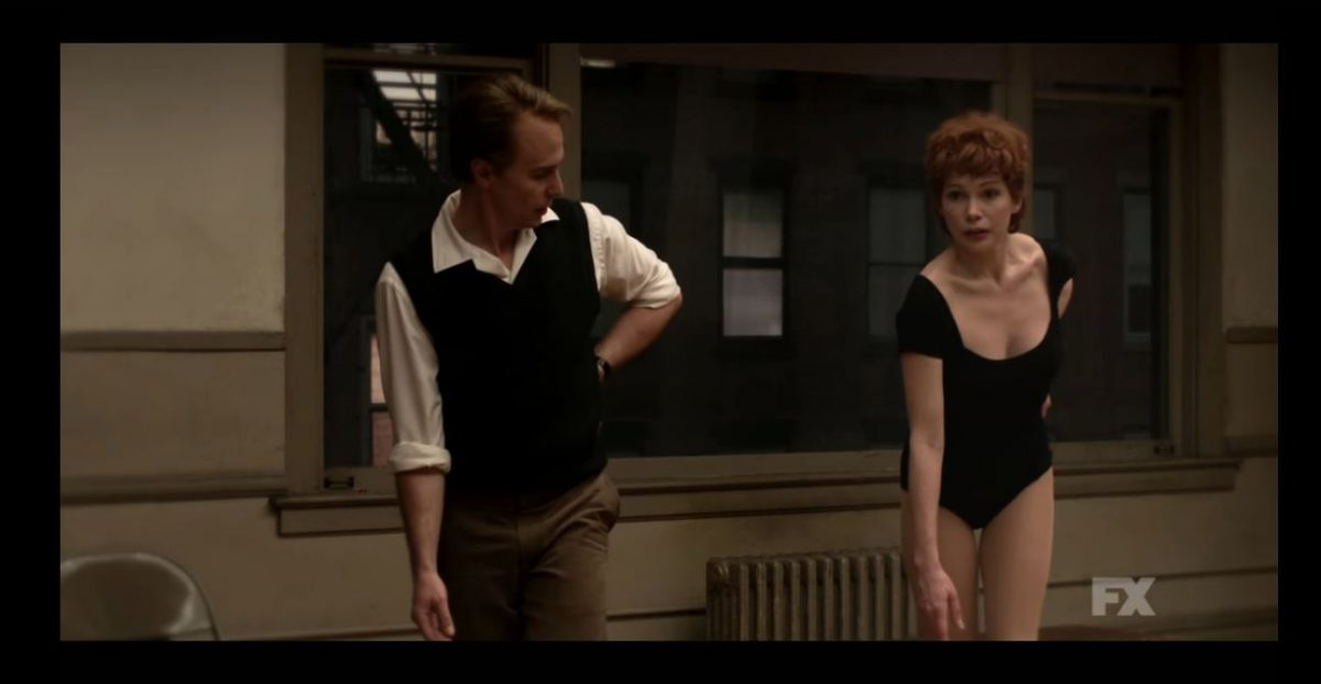 Sam Rockwell and Michelle Williams play Bob Fosse and Gwen Verdon in FX's Fosse/Verdon.