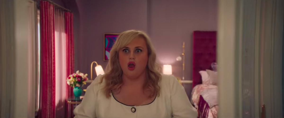 rebel wilson in isn't it romantic, a movie i thought it'd hate and loved