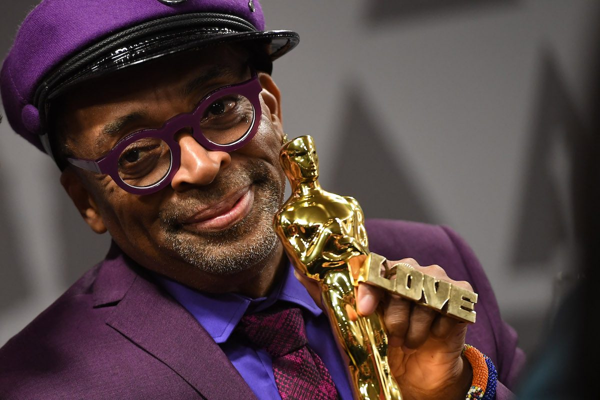 "Best Adapted Screenplay winner for ""BlacKkKlansman"" Spike Lee attends the 91st Annual Academy Awards Governors Ball"