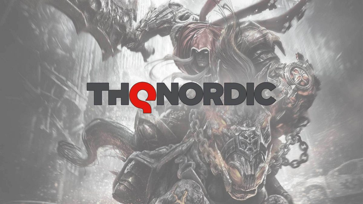 THQ Nordic promotional imagery for Darksiders game.