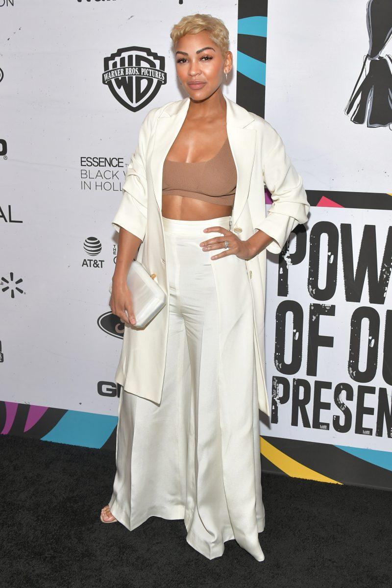 Meagan Good at the Essence Black Women in Hollywood awards.