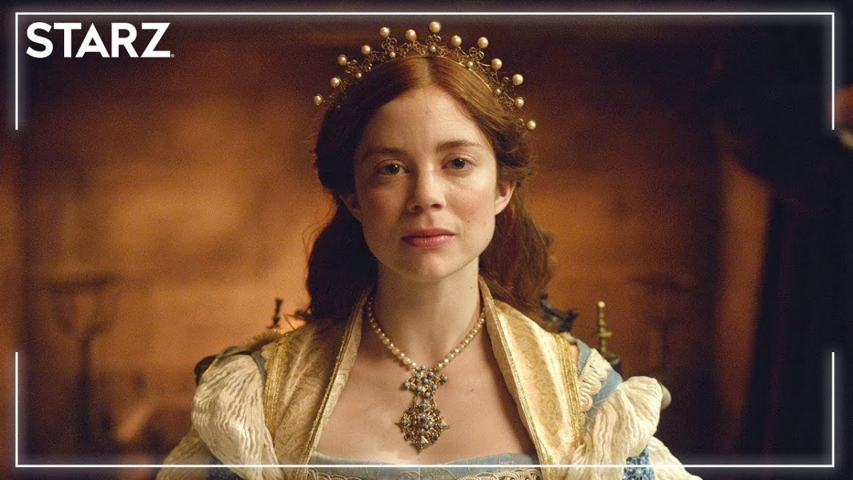 The Spanish Princess Poster with Charlotte Hope as Catherine of Aragon
