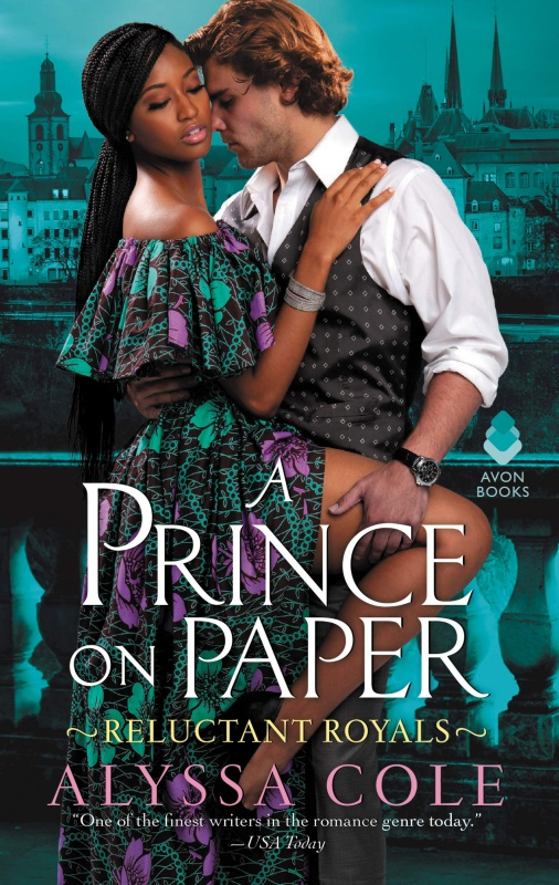 A Prince on Paper cover by Alyssa Cole