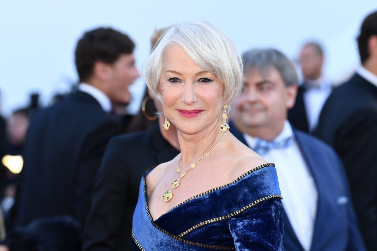 Actress Helen Mirren attends the screening of 'Girls Of The Sun (Les Filles Du Soleil)' during the 71st annual Cannes Film Festival at Palais des Festivals on May 12, 2018 in Cannes, France. (Photo by Pascal Le Segretain/Getty Images)