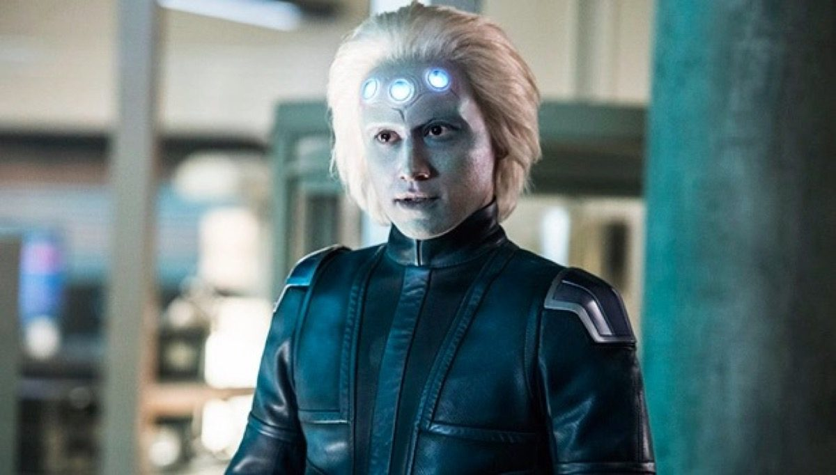 Brainy on The CW's Supergirl.