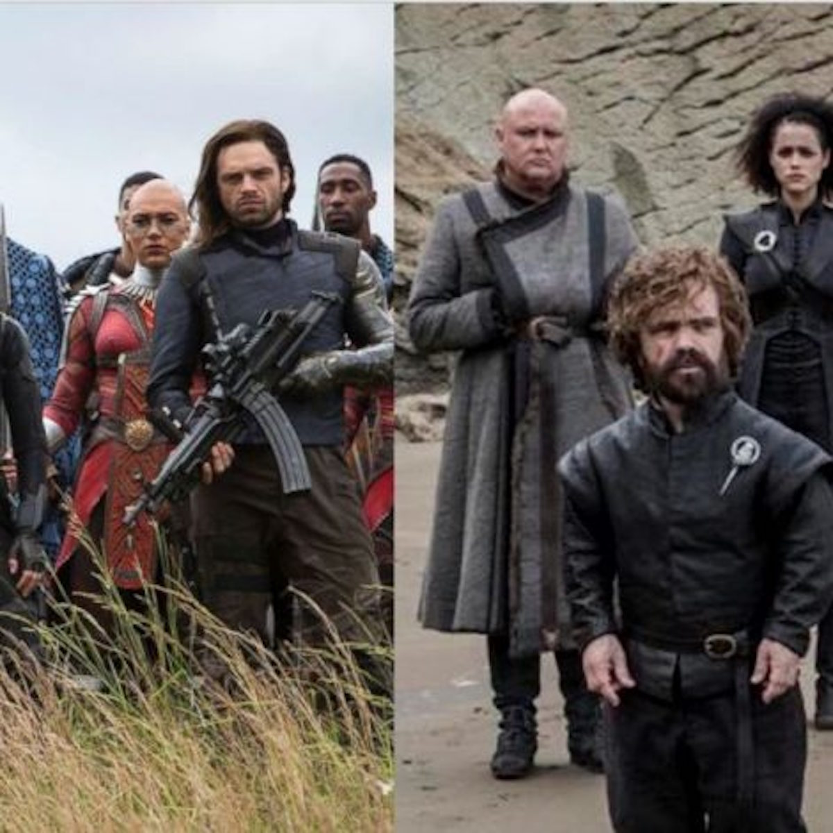 Game of Thrones & Avengers mashup dream teams