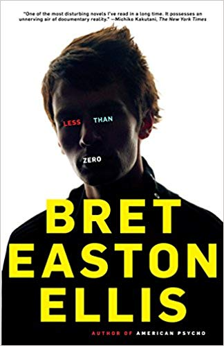 Less Than Zero book cover.