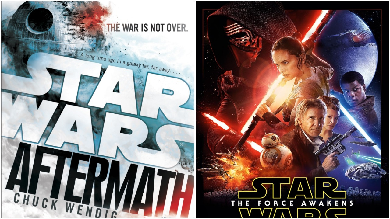 Chuck Wendig's Star Wars: Aftermath trilogy might have surprising ties to the Star Wars sequel trilogy.