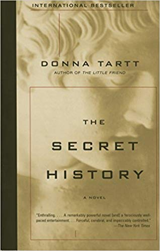 The Secret History book cover.