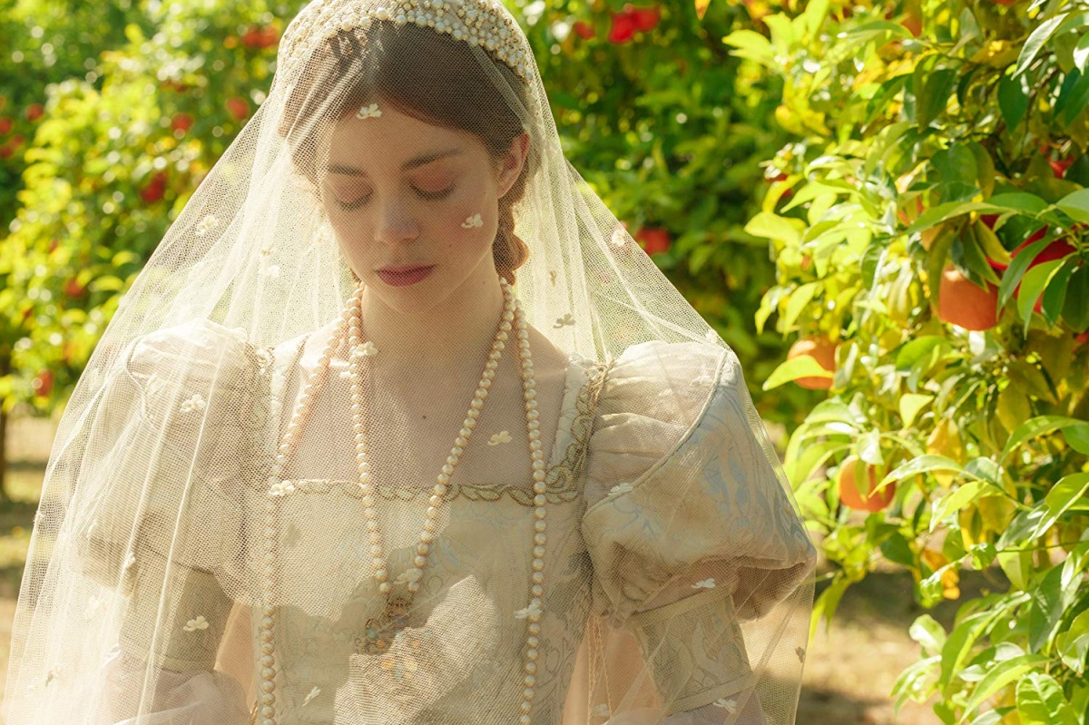 Charlotte Hope as Katherine of Aragon in Starz's 'The Spanish Princess'
