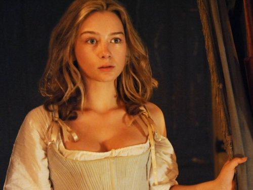 Lucy-Wells in the Hulu show Harlots