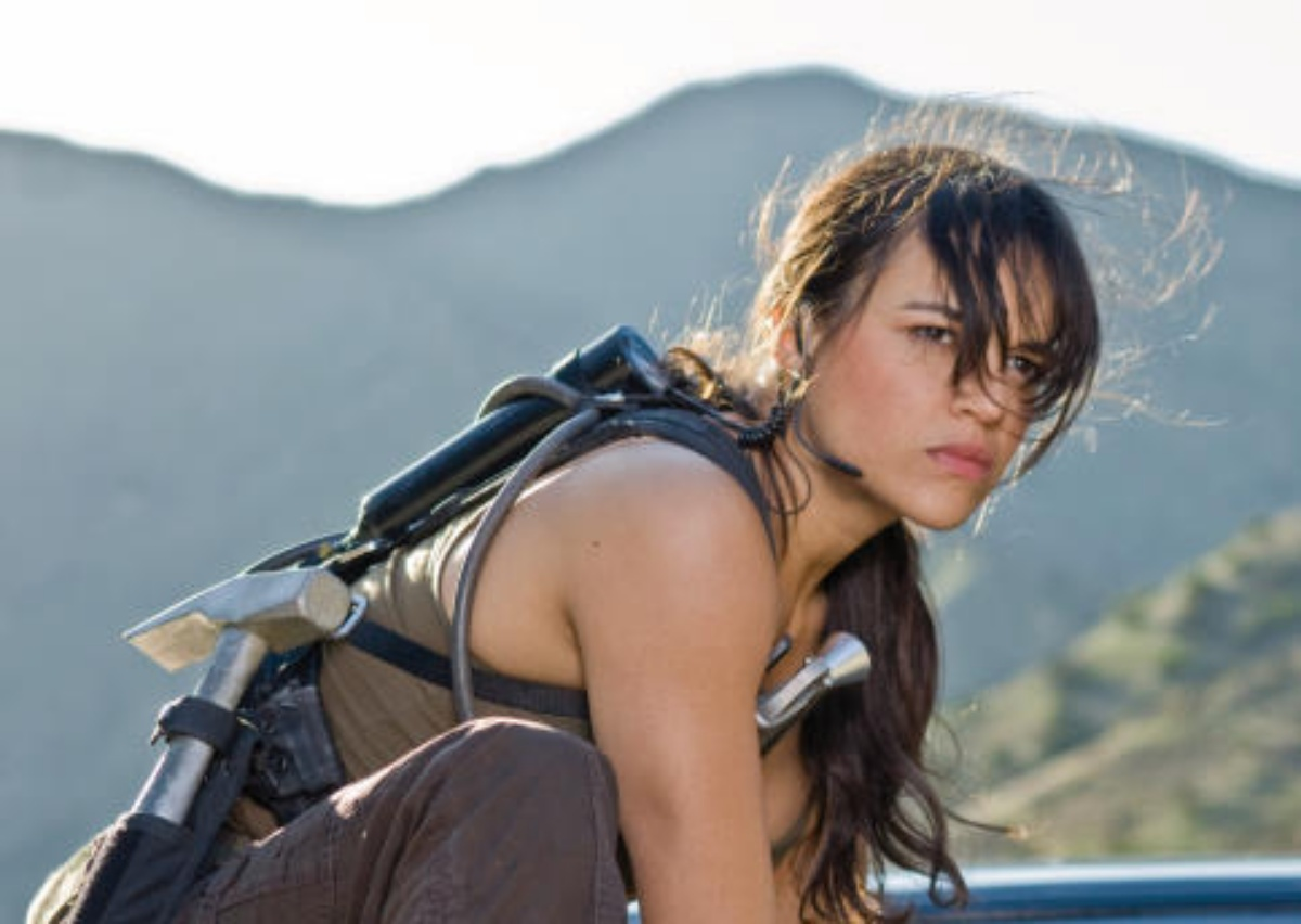 """Michelle Rodriguez in Fast & Furious (2009) asLeticia """"Letty"""" Ortiz i"""