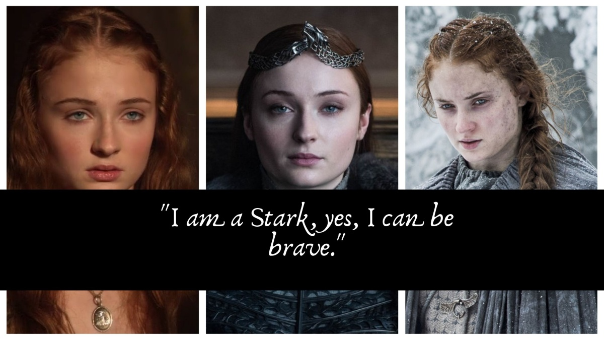 Sansa Stark is the queen in the north