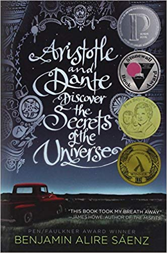 Aristotle and Dante Discover the Secrets of the Universe book cover.