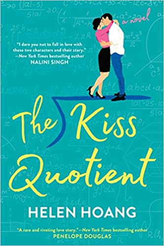 The Kiss Quotient book cover.