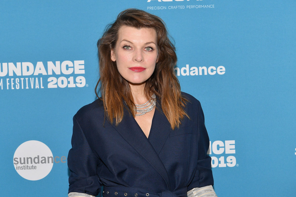 milla jovovich speaks out about emergency abortion.