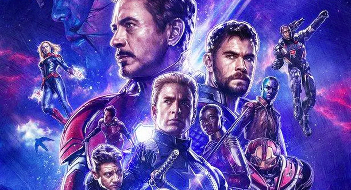 The Avengers assemble on a poster for Marvel's Avengers: Endgame.