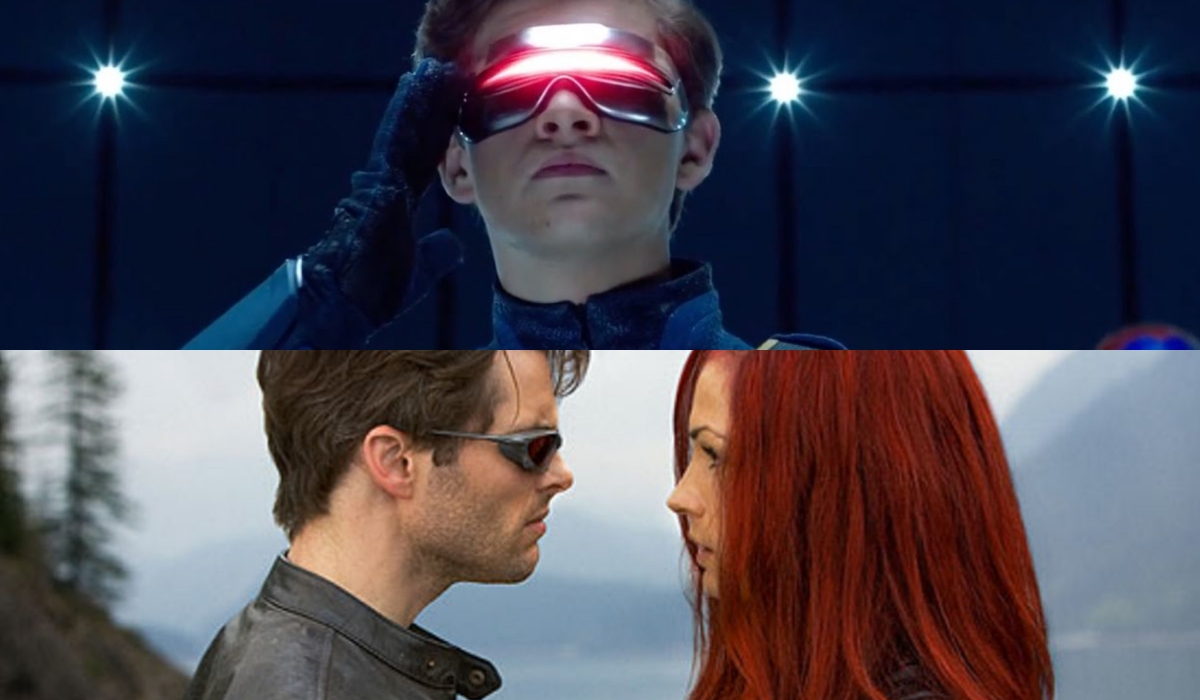 Scott Summers played by Tye Ready Player One, James Marsden and Bond Girl at Cyclops and Jean