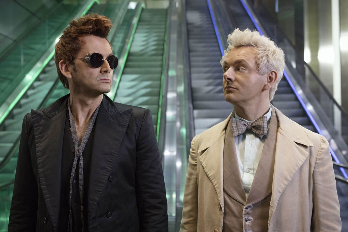 Aziraphale and Crowley in Good Omens