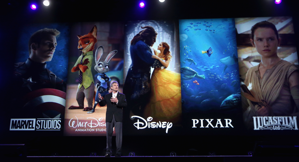 ANAHEIM, CA - JULY 14: Chairman, The Walt Disney Studios, Alan Horn took part today in the Walt Disney Studios animation presentation at Disney's D23 EXPO 2017 in Anaheim, Calif. (Photo by Jesse Grant/Getty Images for Disney)
