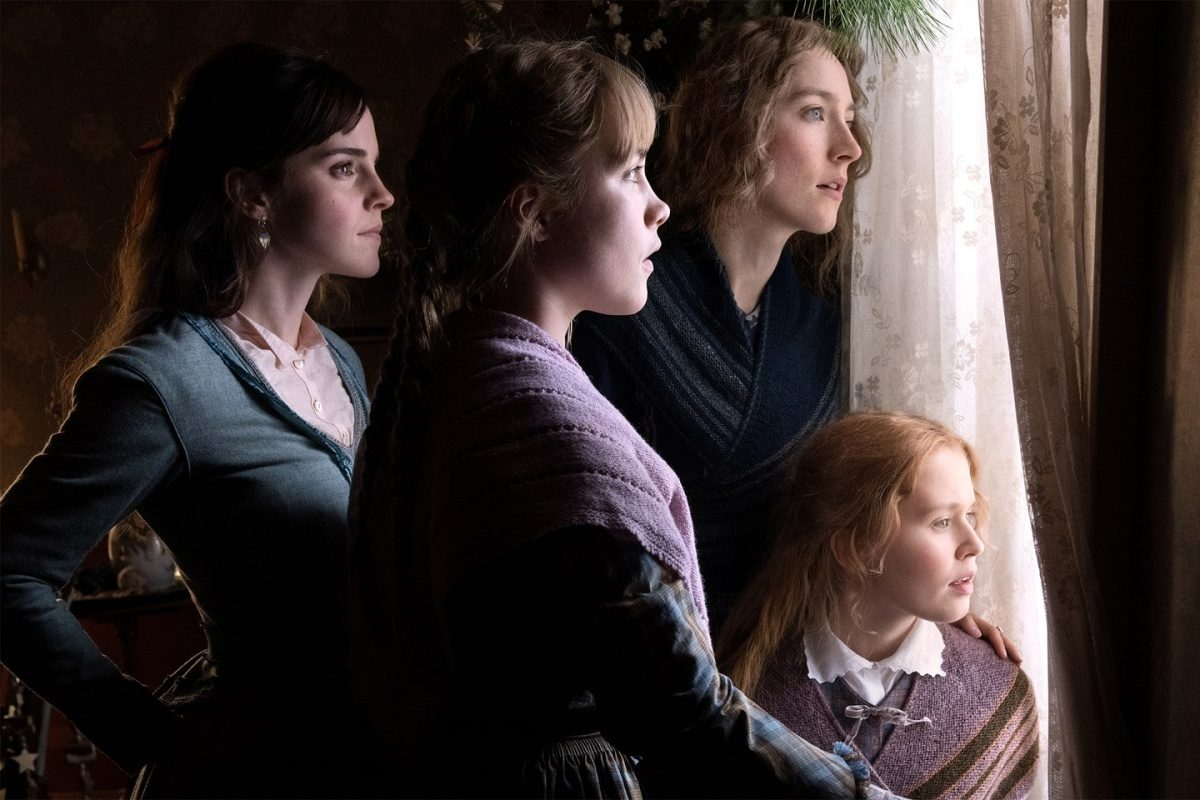 FFrom left to right: Emma Watson as Meg, Florence Pugh as Amy, Saoirse Ronan as Jo, and Eliza Scanlen as Beth.
