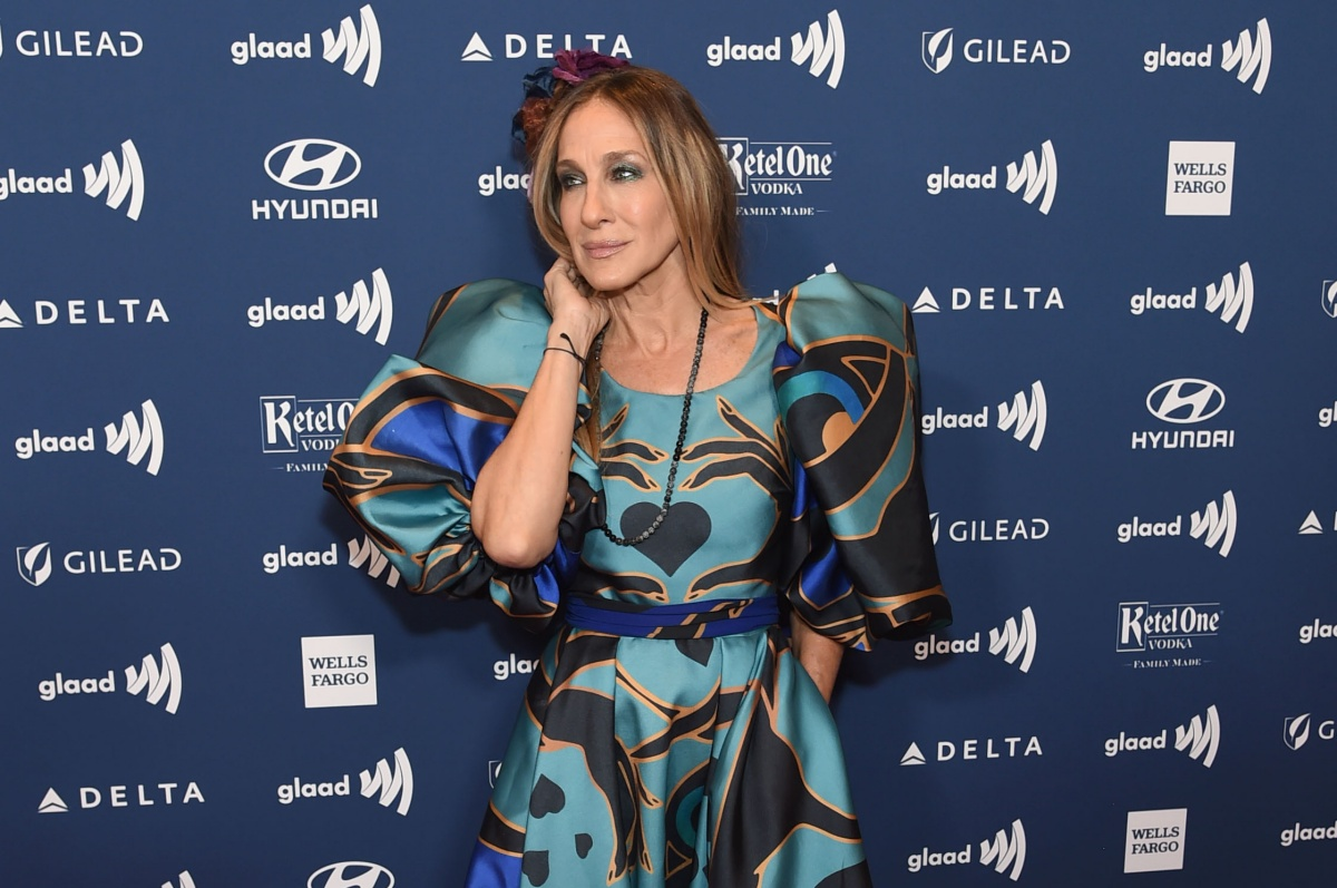 : Sarah Jessica Parker attends the 30th Annual GLAAD Media Awards New York at New York Hilton Midtown on May 04, 2019 in New York City. (Photo by Jamie McCarthy/Getty Images for GLAAD)