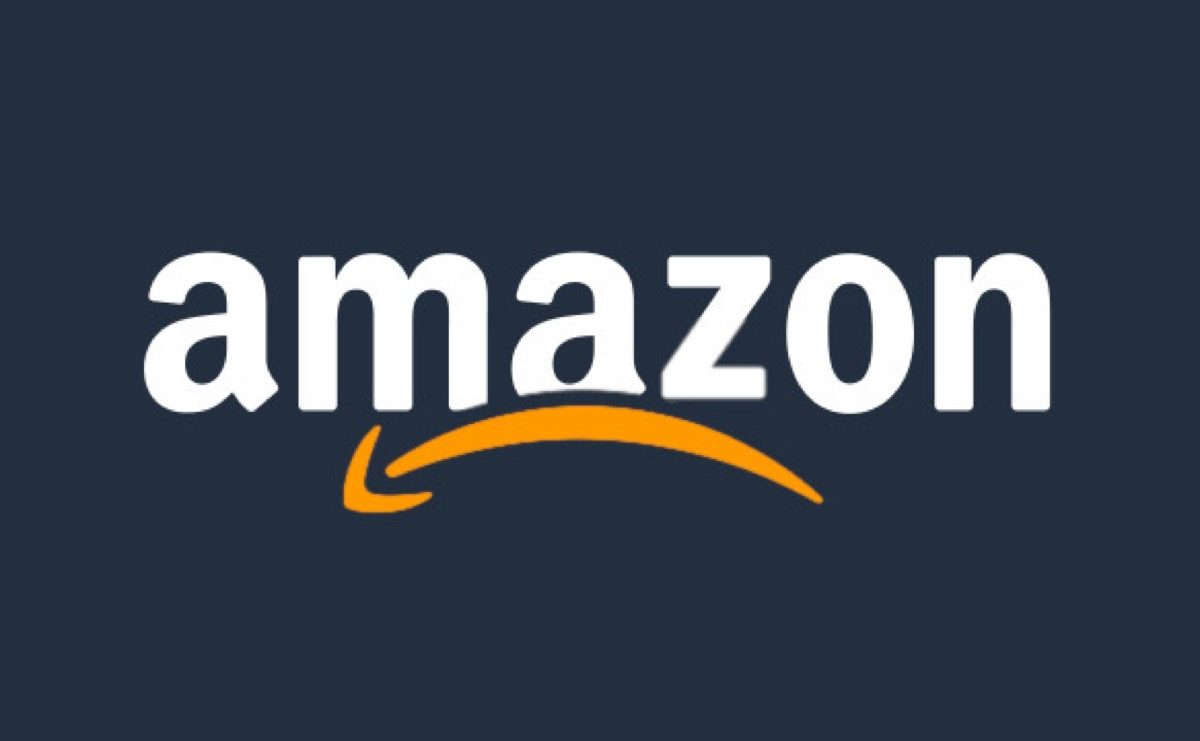Amazon's logo, but it's frowning.